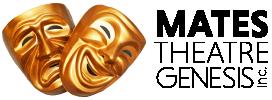 """""""MATES Theatre Genesis"""" Logo"""